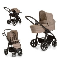 Set Carucior Soul Plus Trio Set Melange Beige/Almond
