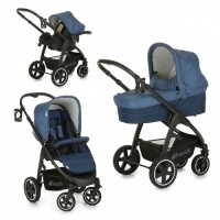 Set Carucior Soul Plus Trio Set Melange Navy