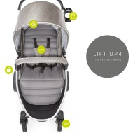 Carucior Lift Up 4 Charcoal