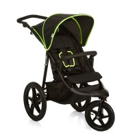Cărucior Runner Black Neon Yellow
