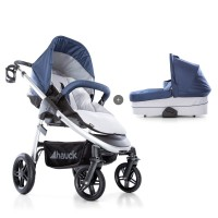 Carucior 2in1 Saturn R - Denim/Silver