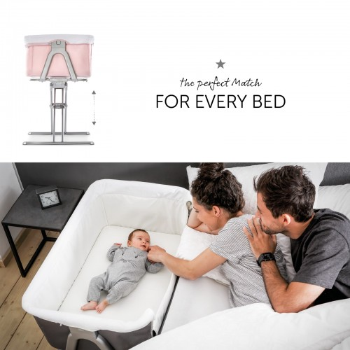 Pat Co-Sleeper Face to me - Pink