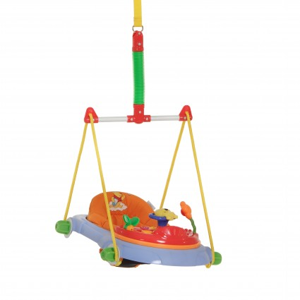 Leagan Jump Deluxe Pooh