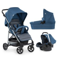 Cărucior 3in1 Rapid 4 Plus Trioset Denim Grey