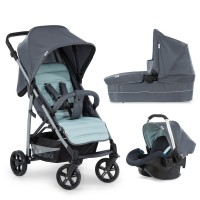 Cărucior 3in1 Rapid 4 Plus Trioset Grey Mint