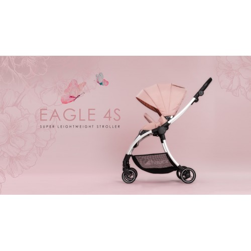 Cărucior 2in1 Eagle 4S Pink Grey