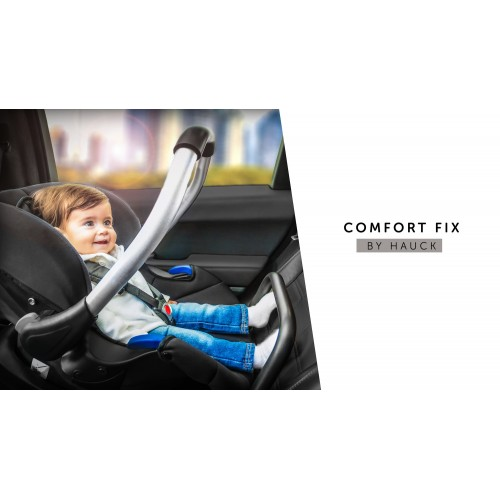 Scaun Auto Comfort Fix Black Grey