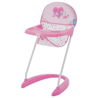 Scaun Masă Păpuşi Doll Hight Chair Love Heart
