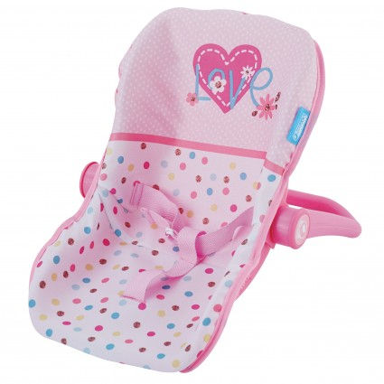 Scaun Auto Papusi Junior  Love Heart