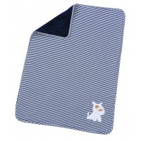 Paturica Bebe Stripes Navy