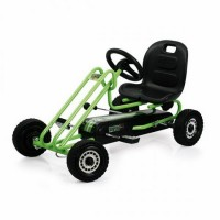 Go Kart Lightning - Race Green